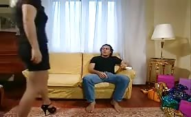 Suor Ubalda 2 - Italian nun + maid costume porn